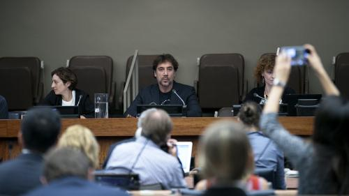 Invité à l'ONU, l'acteur espagnol Javier Barden appelle à protéger les océans