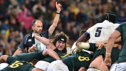 Mondial de rugby: les arbitres devront sanctionner le jeu déloyal pour protéger les joueurs des commotions