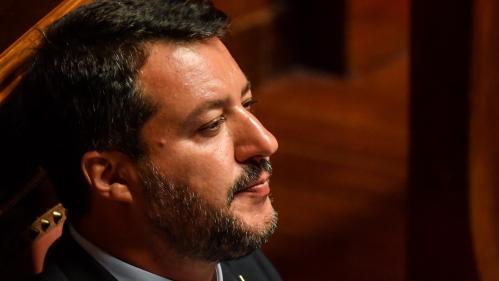 """Crise politique italienne : """"Une situation complètement dramatique due à un comportement tout à fait irresponsable"""" de Matteo Salvini"""