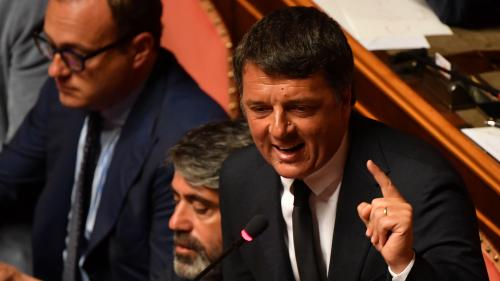 "VIDEO. Crise politique en Italie : pour ""construise l'Europe"", Matteo Renzi favorable à une alliance avec le M5S"
