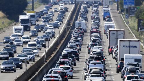 Bison futé : la circulation sera rouge vendredi dans le Sud et orange dans la moitié Nord