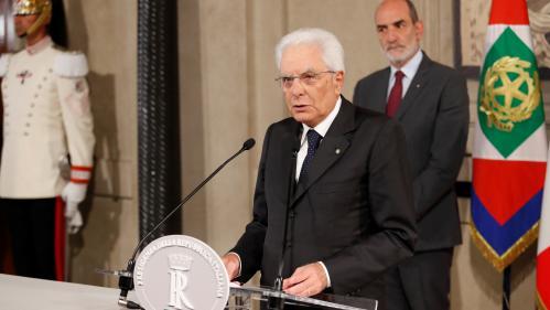 Italie : le président accorde un délai aux partis pour former une nouvelle coalition