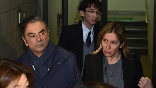 Affaire Carlos Ghosn : son épouse lance un appel au président Macron