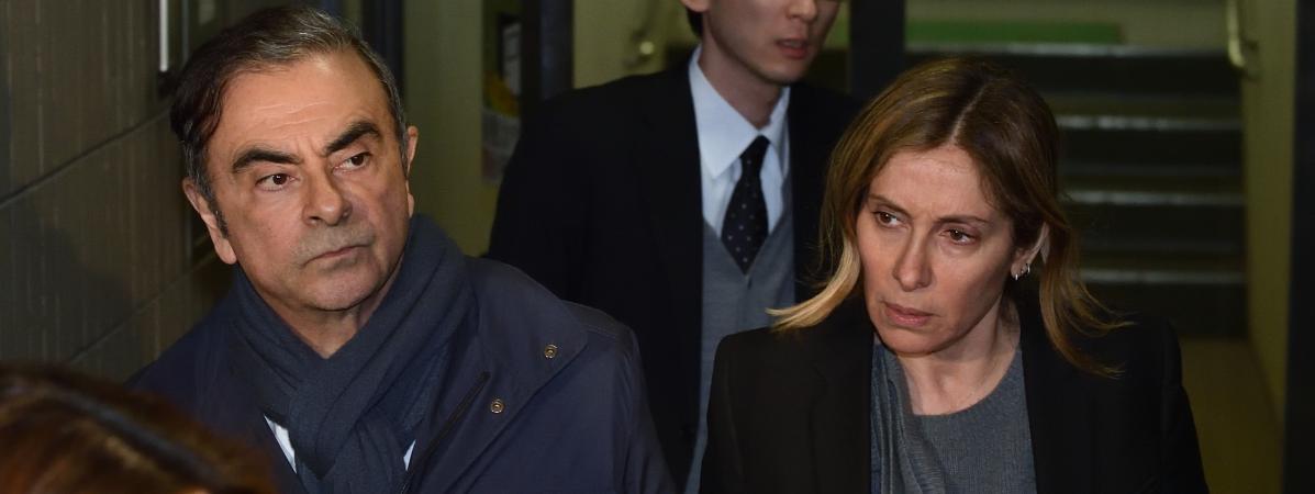 Affaire Carlos Ghosn : son épouse lance un appel au président Macron