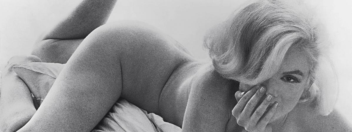 """Exposition """"Divine Marilyn"""" à Paris : l'icône d'Hollywood sous l'objectif intime de Milton Greene et de Sam..."""