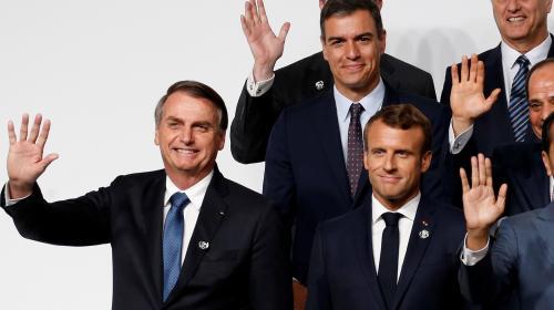 On vous résume la passe d'armes entre Emmanuel Macron et Jair Bolsonaro sur l'Amazonie