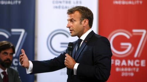 Emmanuel Macron s'adressera aux Français samedi à 13 heures, avant l'ouverture du G7