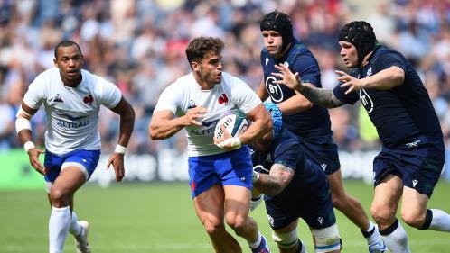 Rugby : à un mois du Mondial, le XV de France s'incline (17-14) en Ecosse en match de préparation