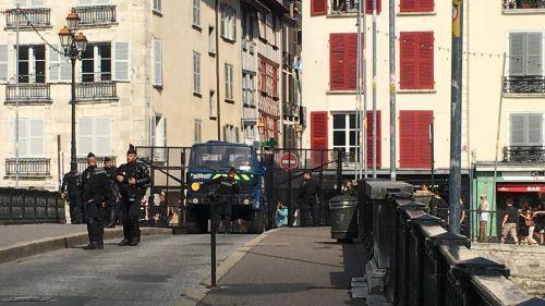 G7 : le centre de Bayonne bouclé par les forces de l'ordre en prévision d'une manifestation d'opposants