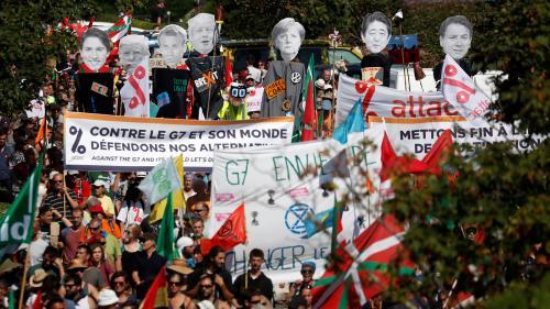 DIRECT. La grande manifestation anti-G7 s'élance d'Hendaye, avant l'ouverture du sommet à Biarritz