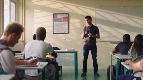"""""""La Vie scolaire"""" : Grand Corps Malade et Mehdi Idr signent un film éducatif sur l'école"""