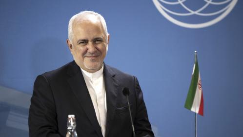Sommet du G7 : le ministre iranien des Affaires étrangères rencontre Jean-Yves Le Drian