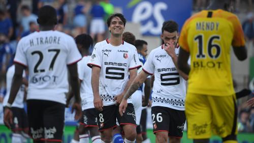 Foot : Rennes continue son sans faute et prend la tête de la Ligue 1 après avoir battu Strasbourg (2-0)