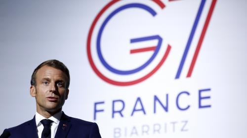 """DIRECT. Sommet du G7 : les discussions avec le ministre iranien des Affaires étrangères sont """"positives"""", affirme l'Elysée"""