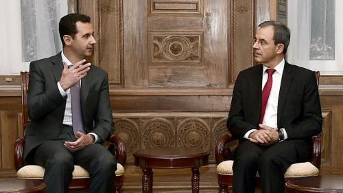 L'eurodéputé Thierry Mariani emmène une délégation du Rassemblement national en Syrie