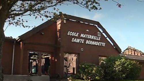 Incendie : une école maternelle ravagée à Jeumont