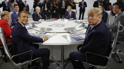 DIRECT. Au sommet du G7, le dossier du nucléaire iranien sur la table, mais aucun mandat n'est donné pour négocier, précise Macron