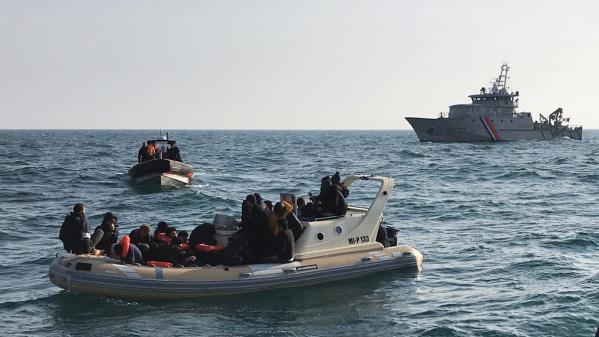 Deux fois plus de migrants ont tenté de traverser la Manche depuis janvier que sur l'ensemble de l'année 2018