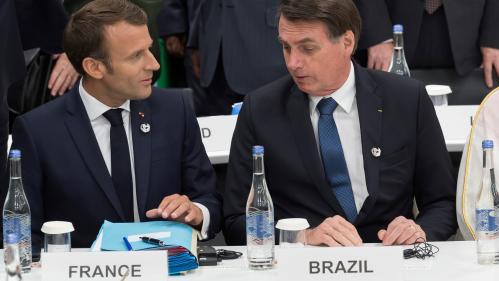 """Passe d'armes entre Emmanuel Macron et Jair Bolsonaro : les codes diplomatiques """"sont en train de voler en éclats"""""""
