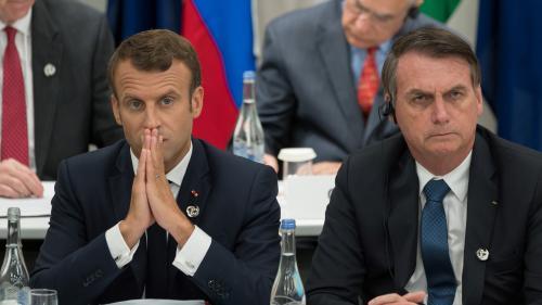 Brésil : le président Jair Bolsonaro s'en prend à Brigitte Macron, son ministre de l'Education s'attaque à Emmanuel Macron