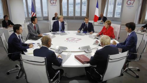 """DIRECT. G7 : Donald Trump assure qu'il est encore """"trop tôt"""" pour rencontrer le ministre des Affaires étrangères iranien"""