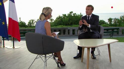 """La France a """"une part de complicité"""" dans la déforestation de l'Amazonie, reconnaît Emmanuel Macron sur France 2"""