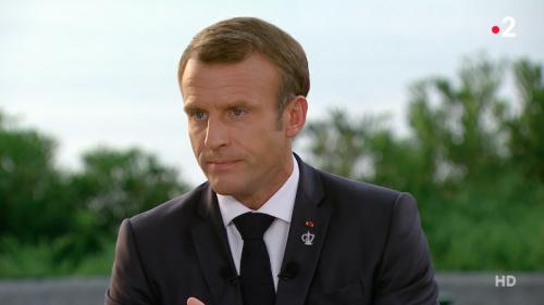 """VIDEO. """"Un sommet utile"""" : après le G7, regardez l'intégralité de l'interview d'Emmanuel Macron sur France 2"""