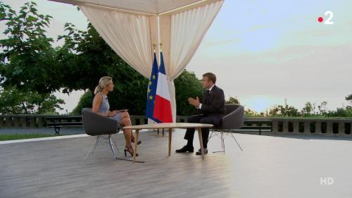 """Amazonie, vin français, violences policières... Ce qu'il faut retenir de l'interview d'Emmanuel Macron au """"20 heures"""" de France 2"""