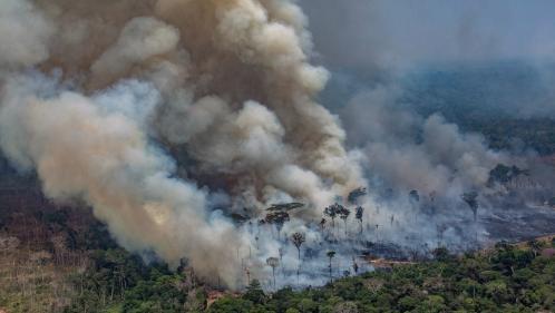 Le Brésil rejette l'aide du G7 de 20 millions de dollars pour combattre les incendies en Amazonie