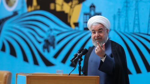 """Nucléaire iranien : le président Rohani appelle Washington à """"faire le premier pas"""" en levant les sanctions"""