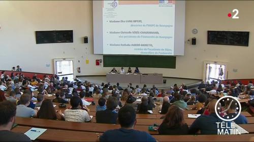 Dijon : rentrée des classes pour les professeurs stagiaires
