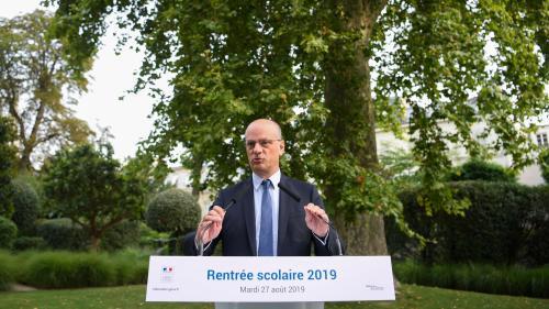 """Conférence de presse de rentrée de Jean-Michel Blanquer : """"Les mesures ont été mieux pensées"""", soutient le SNPDEN"""