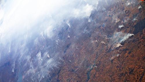 Feux en Amazonie: quasiment quatre fois plus d'incendies cet été que l'année dernière, selon l'Agence spatiale européenne