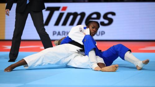 Judo : la Française Clarisse Agbegnenou décroche son quatrième titre mondial chez les moins de 63 kg