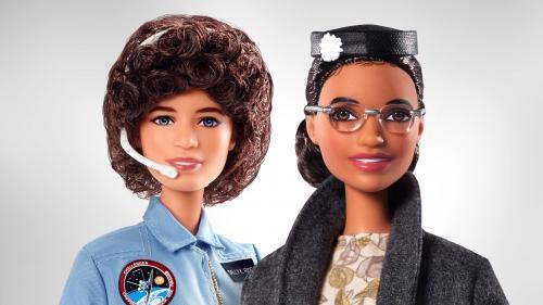 Mattel ajoute la militante des droits civiques Rosa Parks et l'astronaute Sally Ride à sa collection de poupées Barbie