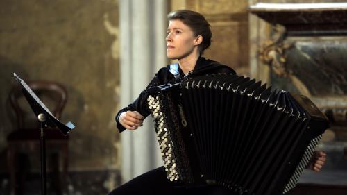 Avec Elodie Soulard, l'accordéon s'invite pour la première fois au Festival de La Chaise-Dieu