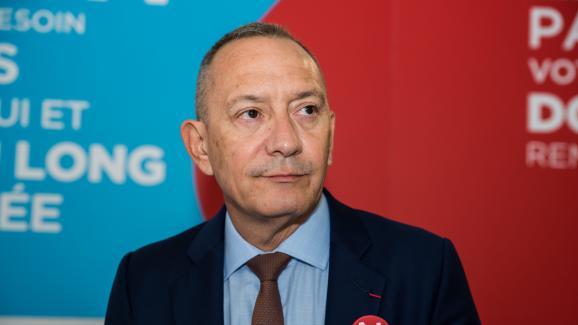 FrançoisToujas, le président de l'EFS depuis octobre 2012, à Paris, le 14 juin 2018.