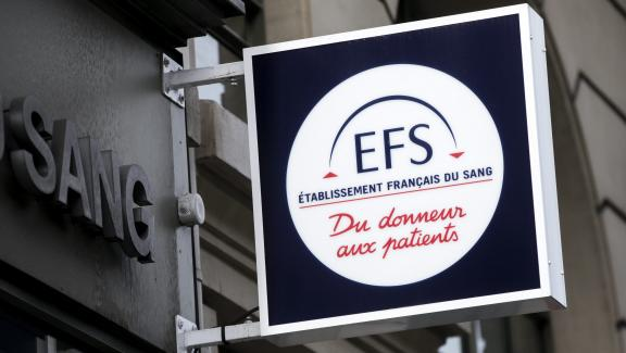 Maison du don de l'EFS, l'Établissement français du sang, à Paris, le 14 juin 2017.