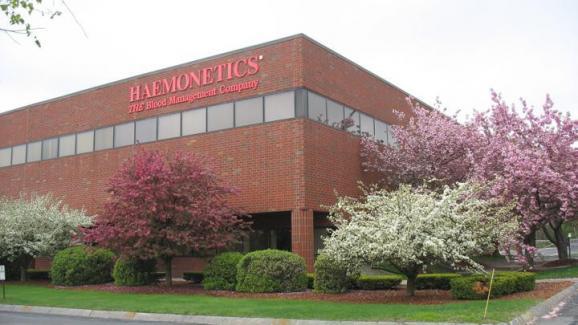 Le siège d'Haemonetics à Braintree, dans le Massachusetts (Etats-Unis).