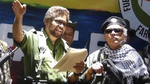 Colombie : d'anciens chefs Farc reprennent les armes, le président annonce une offensive