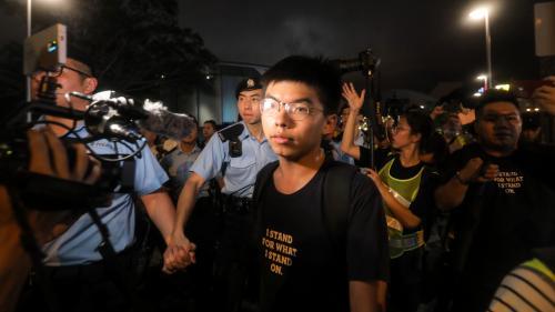 Hong Kong : le militant prodémocratie Joshua Wong brièvement arrêté