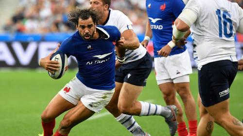 Rugby : le XV de France, brouillon, bat l'Italie (47-19) dans l'ultime répétition avant la Coupe du monde au Japon