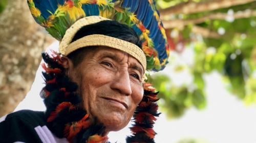 """Incendies en Amazonie : """"Vous qui venez d'autres mondes, aidez-nous !"""", implorent les indigènes de la tribu des Karitiana"""