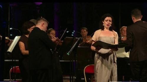 """Le """"Stabat Mater"""" de Pergolese par les Musiciens du Louvre au festival de la Chaise-Dieu"""