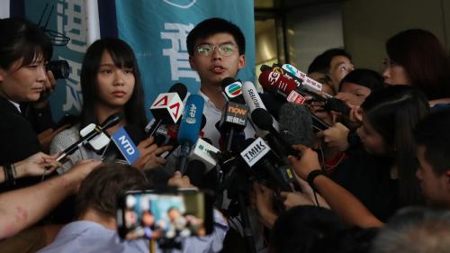 DIRECT. Hong-Kong : des milliers de manifestants dans les rues après l'arrestation de plusieurs figures du mouvement