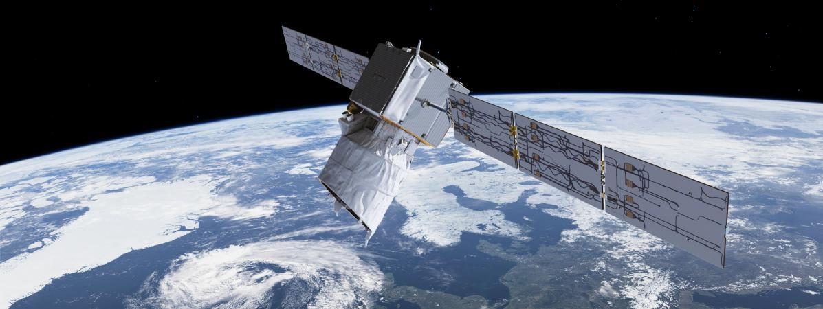 Un satellite de l'Agence spatiale européenne évite une collision avec un engin de SpaceX