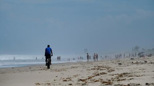 Ouragan Dorian : des kilos de cocaïne découverts sur des plages de Floride