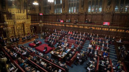 """Brexit : la Chambre des Lords adopte définitivement la loi censée empêcher un """"no deal"""""""