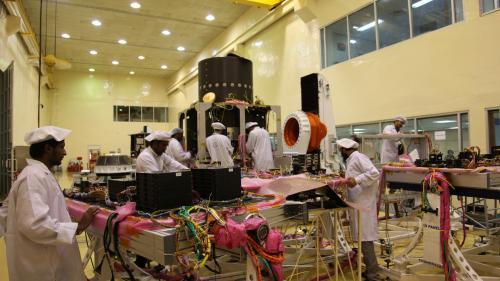 Lune : six questions pour comprendre lesenjeux de la mission indienne Chandrayaan-2