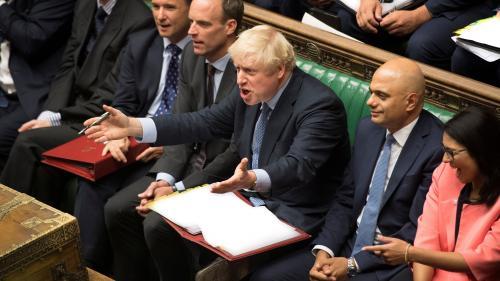 RECIT. Brexit, rébellion et noms d'oiseaux : les48heures qui ont fait vaciller Boris Johnson